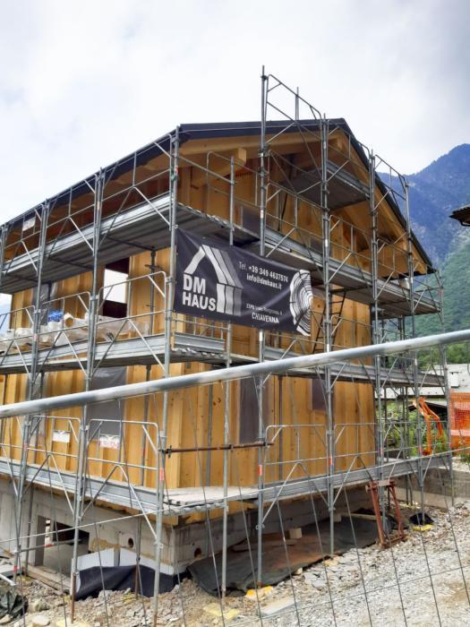 Cantiere nuova realizzazione - Piuro