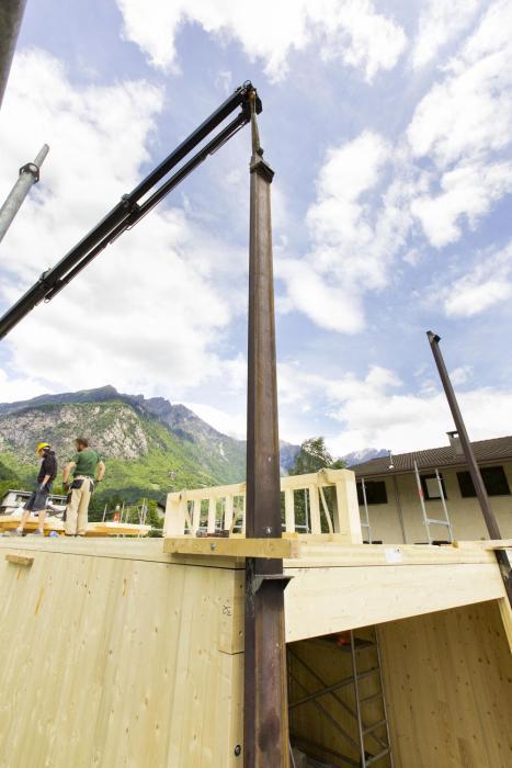 Struttura in legno / acciaio